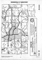 Map Image 027, Iowa County 1990 Published by Farm and Home Publishers, LTD