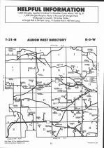 Albion, Springfield, Irving T21N-R5W, Jackson County 1991 Published by Farm and Home Publishers, LTD