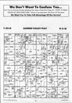 Garden Valley T23N-R5W, Jackson County 1991 Published by Farm and Home Publishers, LTD