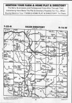 Pierce County Map Image 009, Pepin and Pierce Counties 1991