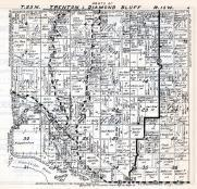 Trenton and Diamond Bluff Townships, Pierce County 1930