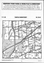 Turtle T1N-R13E, Rock County 1990 Published by Farm and Home Publishers, LTD