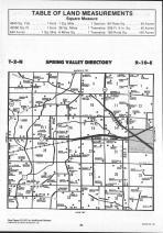 Spring Valley T2N-R10E, Rock County 1990 Published by Farm and Home Publishers, LTD
