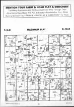 Magnolia T3N-R10E, Rock County 1990 Published by Farm and Home Publishers, LTD