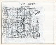Rock County Map