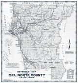 Del Norte County 1949 Wall Map, Del Norte County 1949 Wall Map