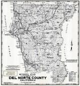 Index Map, Del Norte County 1949