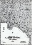 Title Page, Index Map, Lassen County 1958