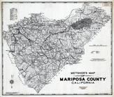 Mariposa County 1980 to 1996 Mylar