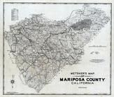 Mariposa County 1980 to 1996 Tracing, Mariposa County 1980 to 1996