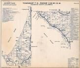 Township 13 and 11 N., Range 17 and 16 W., Manchester, Anchor Bay, McNamees, Mendocino County 1954