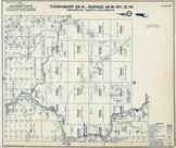 Township 24 N., Range 14 W., Ramsey, Eel River, Bell Springs Station, Mendocino County 1954