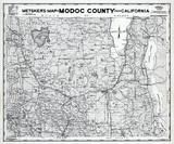 Modoc County 1980 to 1996 Mylar, Modoc County 1980 to 1996