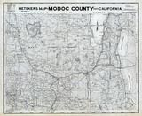 Modoc County 1980 to 1996 Tracing, Modoc County 1980 to 1996
