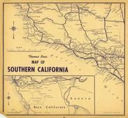California Highway Map 1