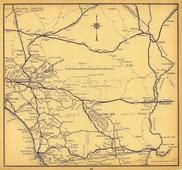 California Highway Map 2, San Diego County 1956