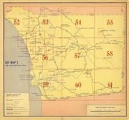 Index Map 2, San Diego County 1956
