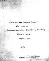 Title Page, San Joaquin County 1911