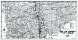 Tehama County 1980 to 1996 Mylar, Tehama County 1980 to 1996
