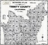 Title Page - Index Map 2, Trinity County 1955
