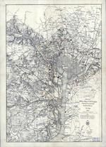 Washington D.C. 1865 Military Wall Map