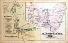 Bladensburgh District No. 2, Hyattsville, College Lawn, Highland, Blithewood, Lanham, Washington D.C. and Montgomery County, MD 1879