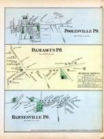 Poolesville, Damascus, Barnesville, Washington D.C. and Montgomery County, MD 1879
