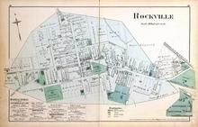 Rockville, Washington D.C. and Montgomery County, MD 1879