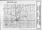 Index Map, Adams County 1987