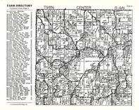 Center Township, Allamakee County 1950