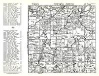 French Creek Township, Allamakee County 1950