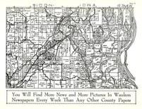 Iowa Township, Mississippi River, Allamakee County 1950