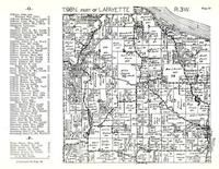 Lafayette Township 2, Village Creek, Mississippi River, Allamakee County 1950