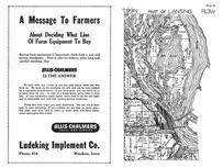 Lansing Township 2, Mississippi River, Columbus, Allamakee County 1950