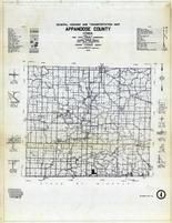 Appanoose County General Highway and Transportation Map, Appanoose County 1946