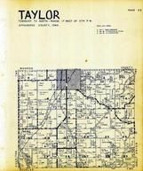 Taylor Township, Maine, Moravia, Appanoose County 1946
