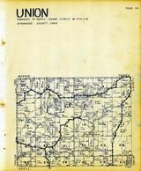 Union Township, Appanoose County 1946
