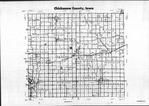 Index Map, Chickasaw County 1986