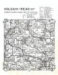 Volga Township - West, Read Township - South, Clayton County 1966