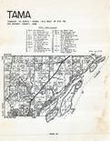 Tama Township, Burlington, Otter Island, Rush Island, Des Moines County 1960 Booth