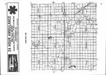 Index Map, Greene County 1985 Published by Directory Service Company