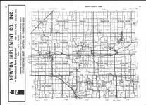 Index Map, Jasper County 1985 Published by Directory Service Company