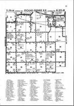 Map Image 015, Jasper County 1985 Published by Directory Service Company
