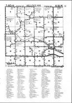 Map Image 025, Jasper County 1985 Published by Directory Service Company
