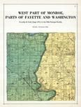 Monroe and Fayette Townships, Palo, Toddville, Linn County 1921