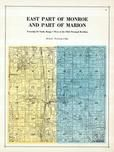 Monroe and Marion Townships, Robins, Toddville, Linn County 1921