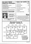 Index Map 1, Muscatine County 1999