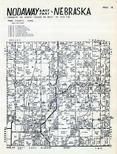 Nodaway and Nebraska Townships, Hawleyville, Clarinda, Page County 1957