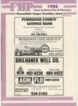 Title Page, Poweshiek and Jasper Counties 1986