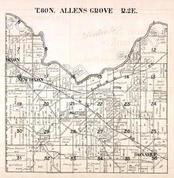 Allens Grove Township, Dixon, New Dixon, Donahue, Scott County 1923